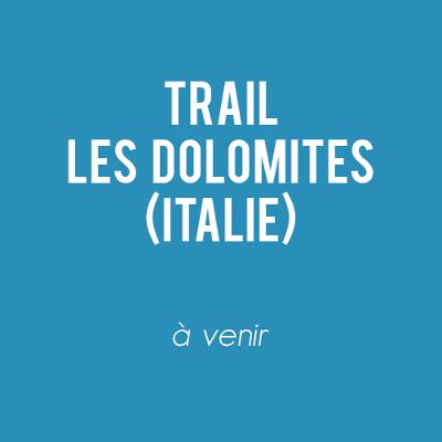 Trail - Les Dolomites